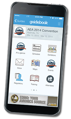 AEA Convention Mobile App Sponsored by EDMO Distributors, Inc.