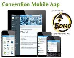 Convention Mobile App Sponsored by EDMO Distributors, Inc.