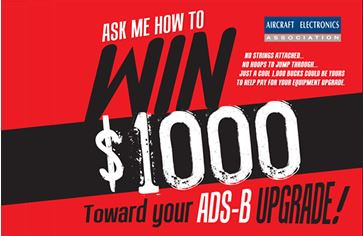 Win $1,000 toward your ADS-B Upgrade