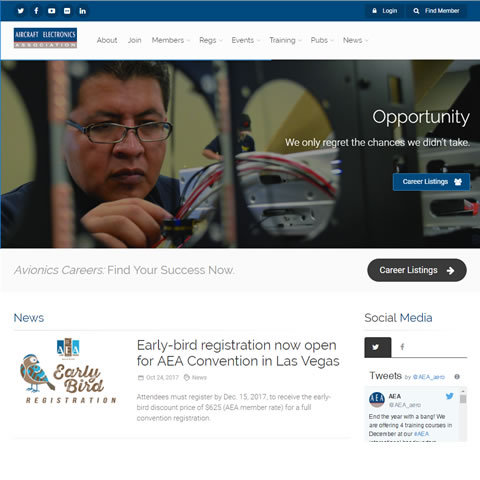 aea.net Website