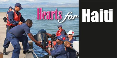 AEA Supporting Hearts for Haiti; Collecting Donations