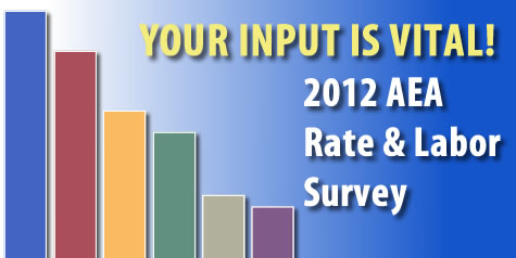 2012 Rate & Labor Survey Results Now Available to AEA Members