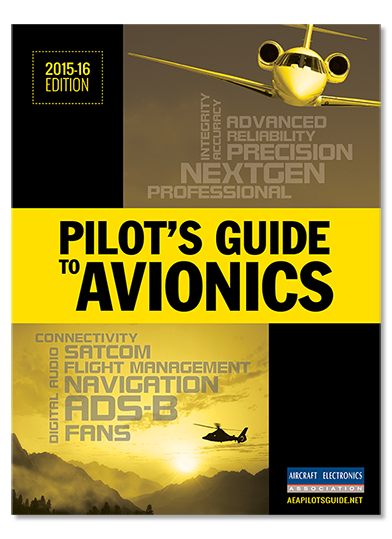 Pilot's Guide to Avionics 2015-16 Cover